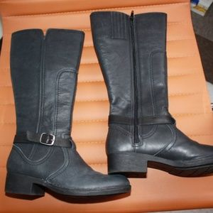 Clarks Leather Riding Boots 7